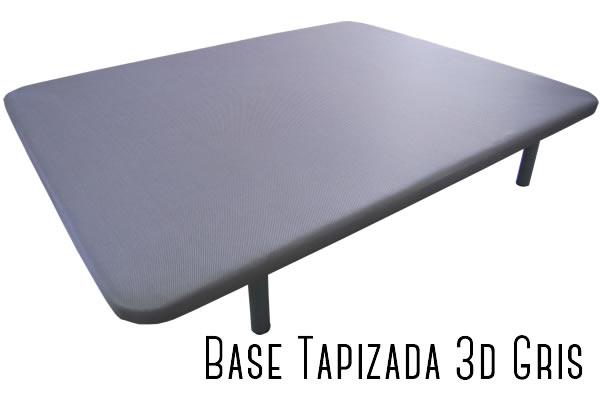 base tapìzada gris